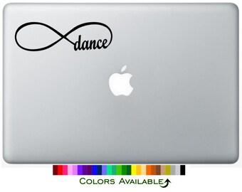 Dance Infinity Loop Laptop Decal