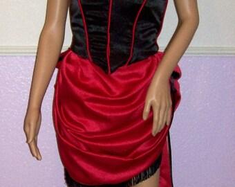 Western Saloon Girl/Dance Hall Girl Costume