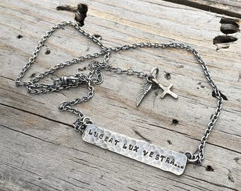 Sterling Silver Personalized Necklace Handmade Wild Prairie Silver Jewelry