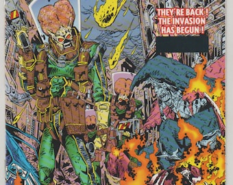 Mars Attacks!; Vol 1, 1 Gold Foil Cover Variant, Modern Age Comic Book. NM (9.4). May 1994. Topps Comics