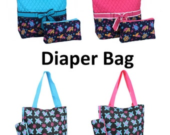 DIAPER BAGS and Mommy Bags to Match   --Monogrammed /  SALE- While They  Last!!!