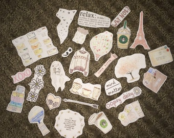 Tumblr Girl Sticker Pack