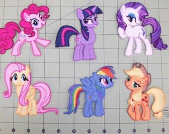 Main 6 - My Little Pony Patch
