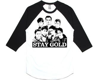 STAY GOLD RAGLAN
