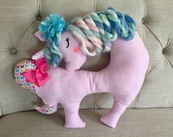 Unicorn snuggle pillow