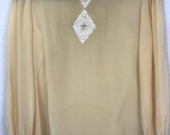 Lloyd Williams Limited Pure Silk Blouse 6