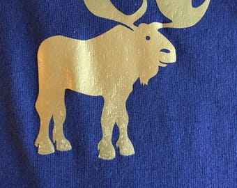 Gold Moose Onesie