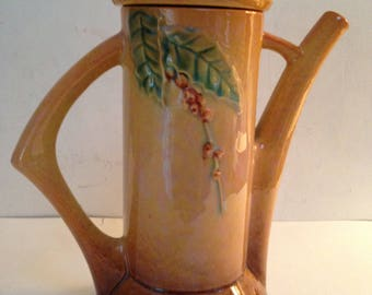 Roseville Pottery Wincraft Coffee Pot-Vintage-Rare