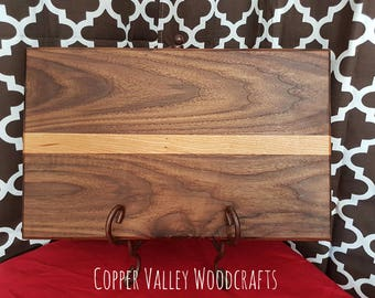 12x18 walnut and cherry cutting board.
