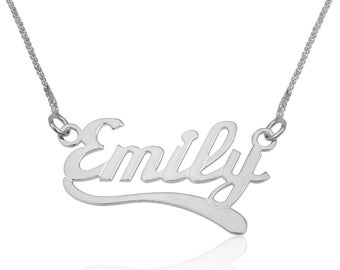 Custom necklace personalize-Personalized gift-Name necklace gold-Personalized gift for friend-Custom name-Birthday present-For her- For him