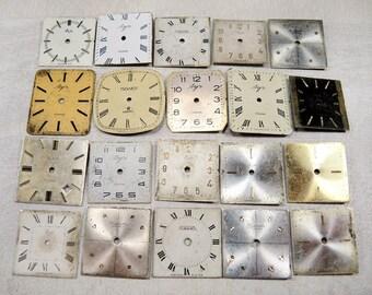 Vintage Watch Faces - set of 20 - c8