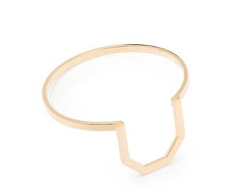 ON SALE Minimal Geometric Cuff