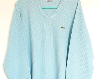 Vintage vintage Lacoste sweater 90-00 Made in France size 4 (M).