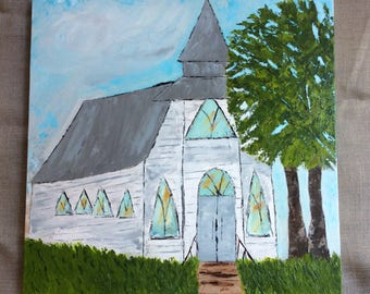White Country Church