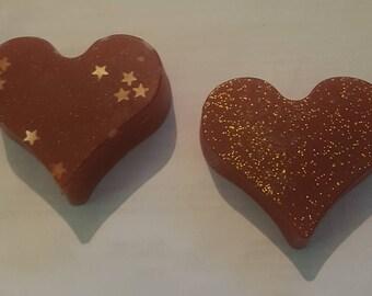 2x Large Heart Wax Melts