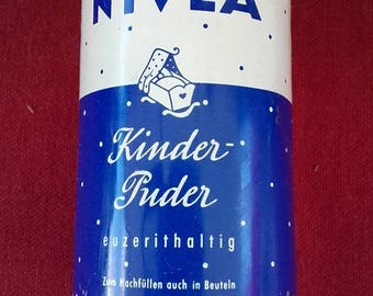 "NIVEA ""Kinder Puder"" - vintage talcum powder"