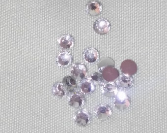 3 or 5mm rhinestone gems flatback round for crafts wedding party 2000pcs/360pcs