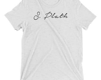 Sylvia Plath - Classic Author - Short sleeve t-shirt