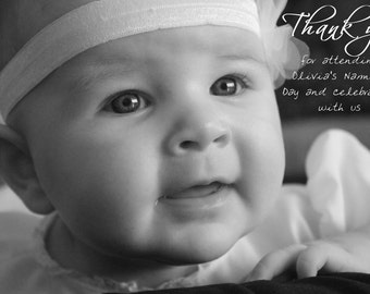 Thank You Cards – Naming Ceremony