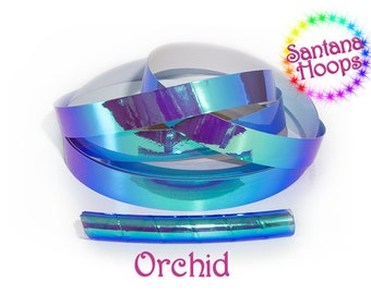 Orchid Color shifting Morph Taped Performance Hula Hoop Polypro or HDPE