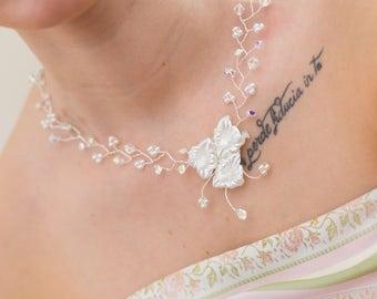 Monaco wedding necklace