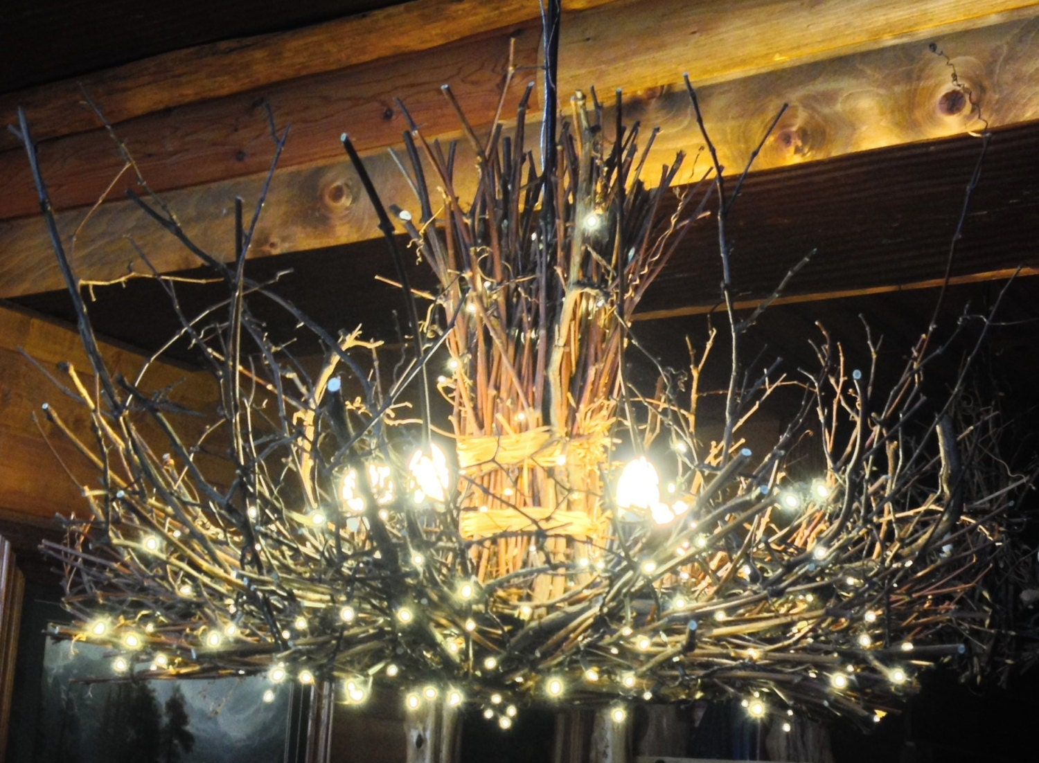 The appalachian rustic outdoor chandelier 5 candle zoom arubaitofo Gallery