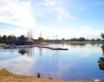 Shoreline Lake - Mountain View CA - 16x20