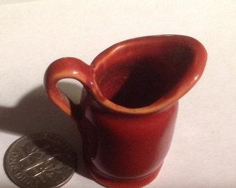 Vintage miniature  Ceramic Pitcher