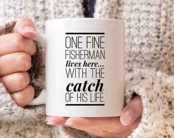 Fishing Mug, Fishing Coffee Mug, Fishing Gift Ideas, Fishing Gift Mug, Fisherman Mug, Fisherman Coffee Mug, Fisherman Gift Ideas