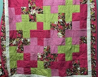 Square cross quilt