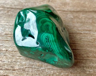 Malachite stone- 213 g