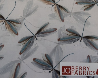 Dragonfly Dream from the Essence of Pearl Collection by Maria Kalinowske for Kanvas with Benartex, Fabric by the Yard, JoBerry Fabrics.