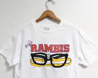 fd6532af51a M/L Vintage Kurt Rambis Rare T-Shirt