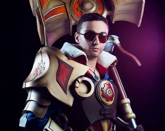 LEAGUE OF LEGENDS - Jayce cosplay armor - videogame character costume - high quality handmade professional cosplay