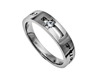 "Solitaire Ring ""Purity"""