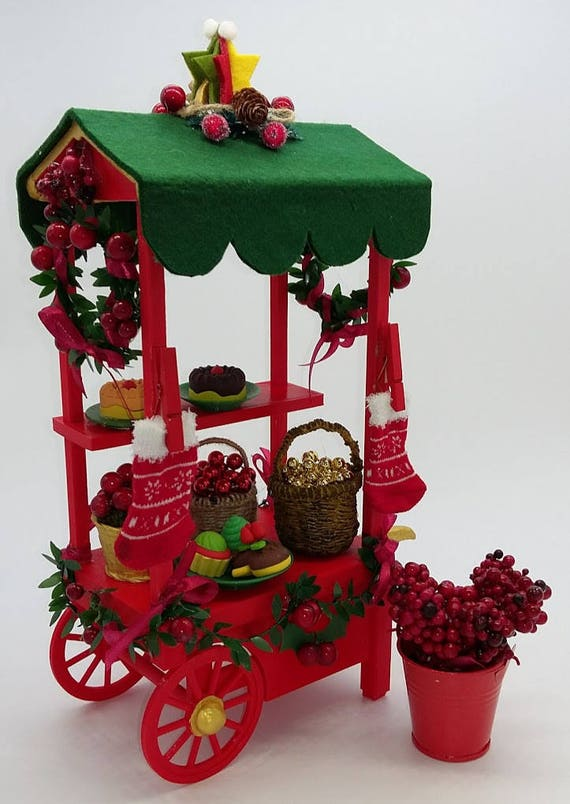 Christmas stall for ball jointed Zisa