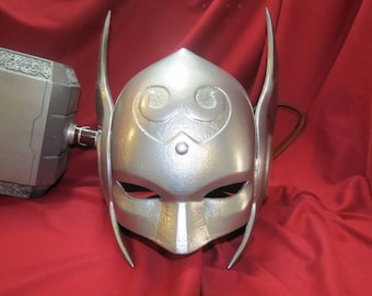 Lady Thor Jane Foster Marvel Winged Helmet Prop 3D Printed for Cosplay & Costume For Her