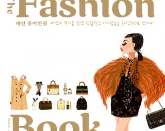 The Fashion Book  - Paper Doll Book