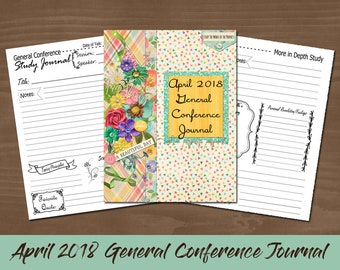 April 2018 General Conference Journal