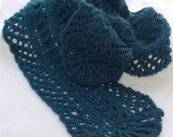Mari Knitting Scarf Pattern