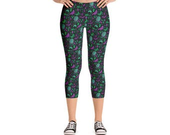 Foolish Mortals Capri Leggings