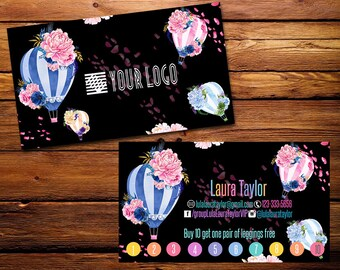 Punch Cards,Business Cards, Fast Free Personalization and Change, Digital Punch Cards,Home Office Punch Card,Mandala Business card