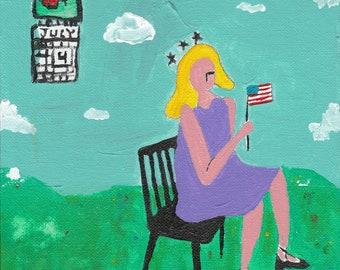 Independence Day Sky Calendar