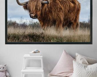 Printable Art Animal Prints Cow Print Rustic Home Decor Farmhouse Decor Woodland Nursery Wall Art Prints Photography Prints Wall Art