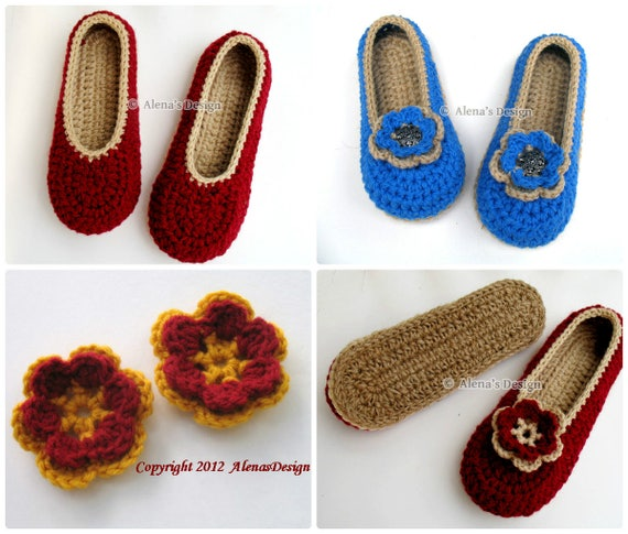 Crochet Slipper Pattern 143 Crochet Pattern Womens Slippers With