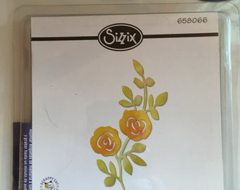 Declutter Sizzix, Sizzlets Flowers, Climbing on a Vine, 658066