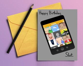 "LGBT ""Happy Birthday"" - Gay Dating Card"
