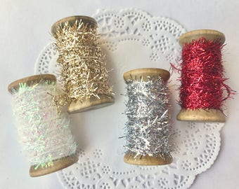 Tinsel Twine String, 4 COLORS