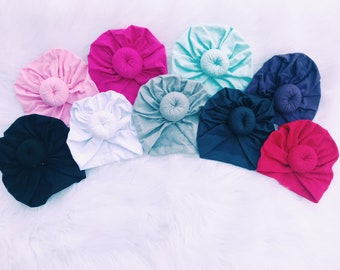 Baby Turbans - 11 COLOR OPTIONS