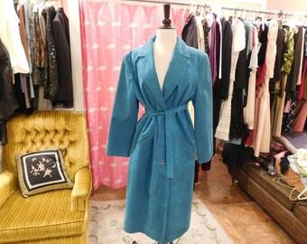 1960's  Lilli Ann  Ultra  suede  coat